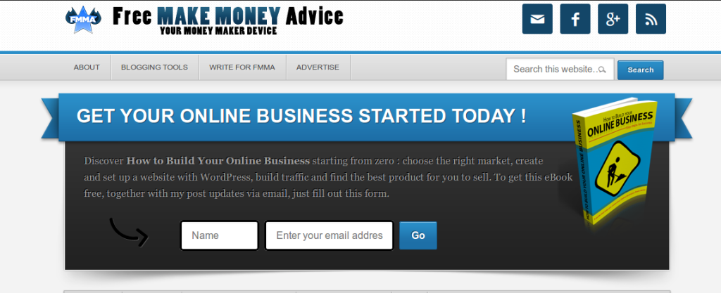 Free MAKE MONEY Advice - Your money maker device