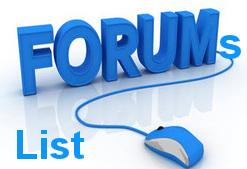 Forums List