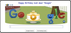 Happy Birthday My Dear Google