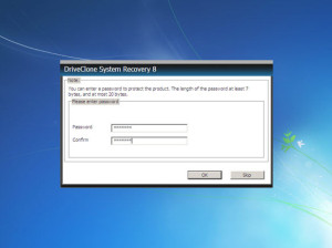 Password Protect System Recovery