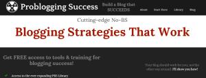 problogging success  blog