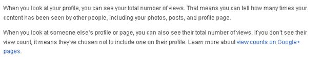 Google Plus Profile Intro