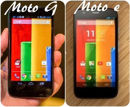 Moto G or Moto E