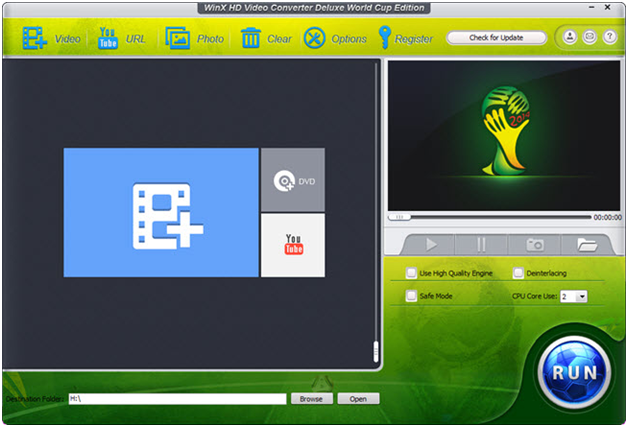 Review WinX HD Video Converter for World Cup 2014 videos