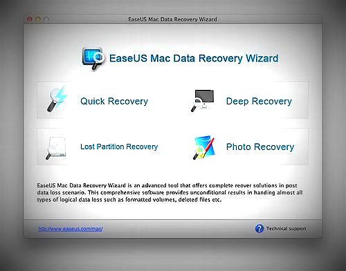 how to recover my lost data on Mac