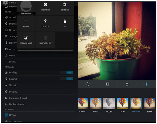 Edit your photos using Instagram without Posting them
