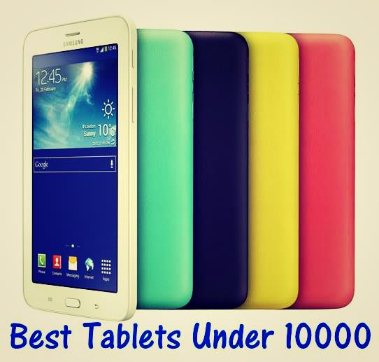 Best Android Tablets Under 10000 in India
