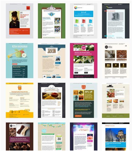 Famous Best Mailchimp Templates Embellishment Resume Ideas - Mailchimp template ideas