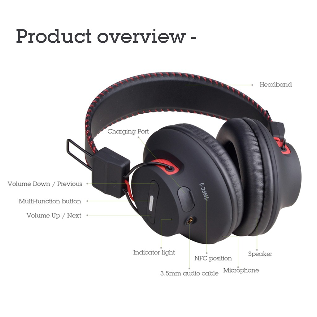 Avantree Audition Headphones feature