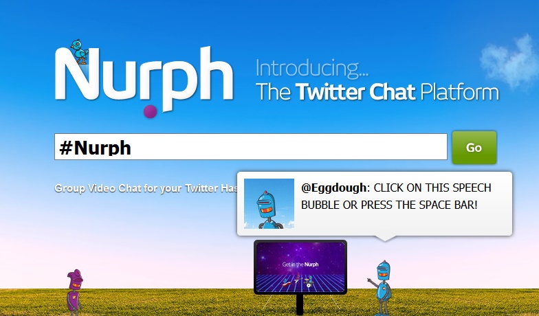 Nurph – A simple chat platform for twitter
