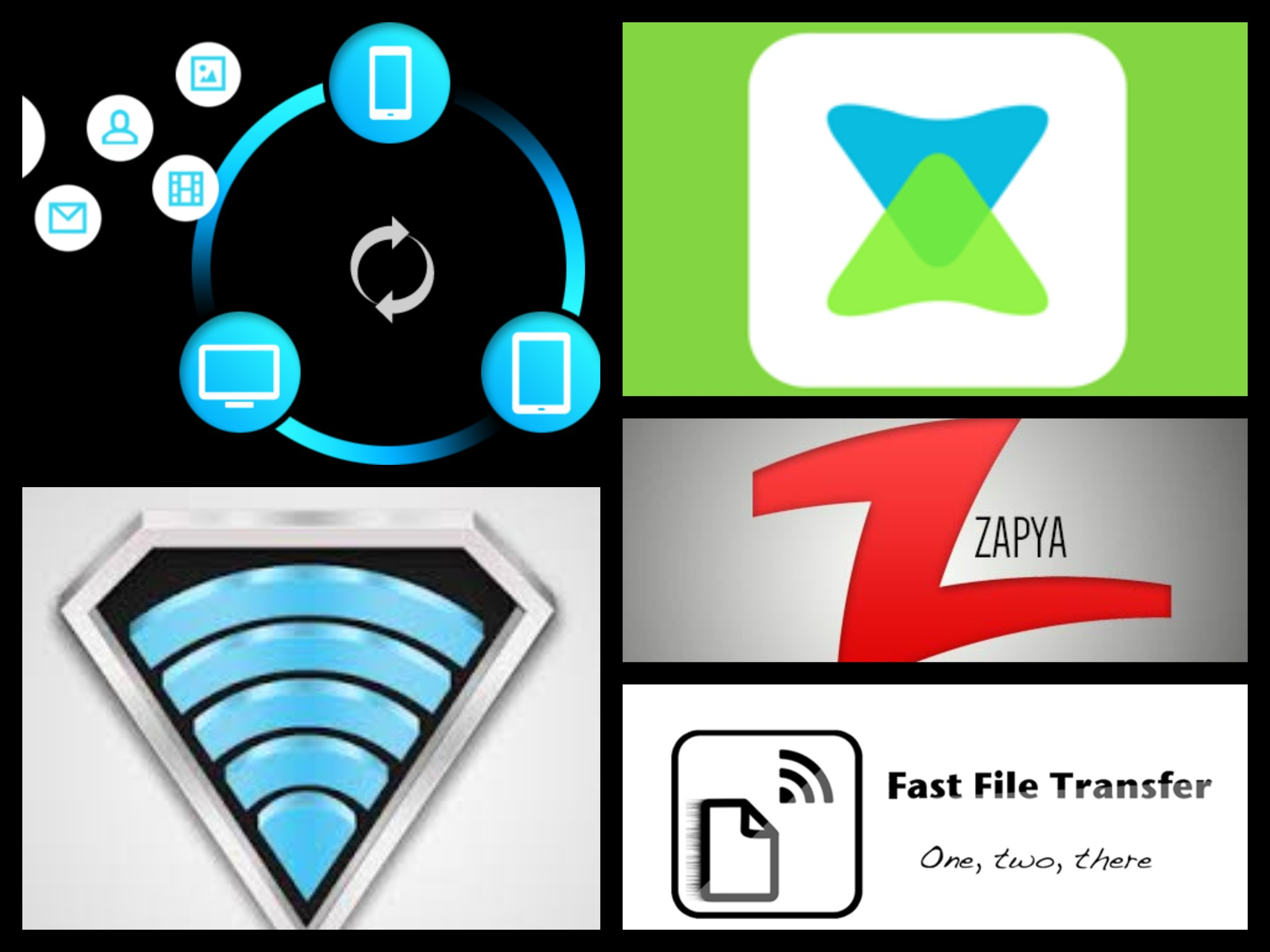 5 Best Apps for Sharing Files between Devices and Friends