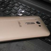 Asus ZenFone 2 Laser Golden Color , Side View
