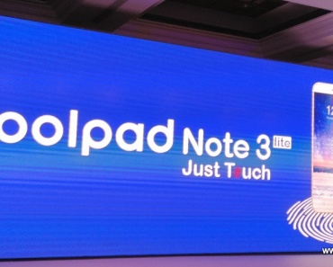 Coolpad Note 3 Lite launch
