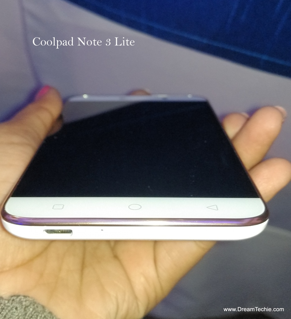 Coolpad Note 3 Lite Hands On Pics