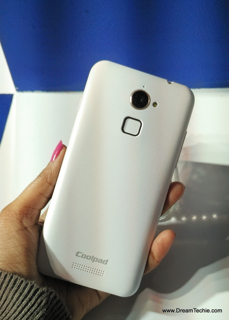 Coolpad Note 3 Lite Rear Panel Design