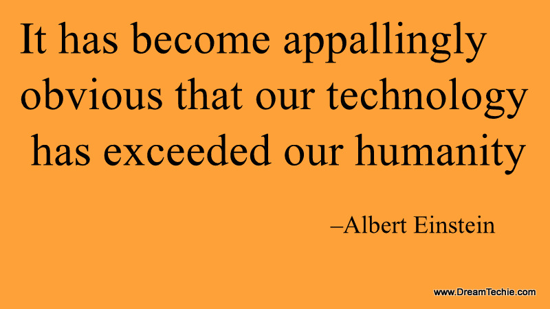 Technology quotes hd image