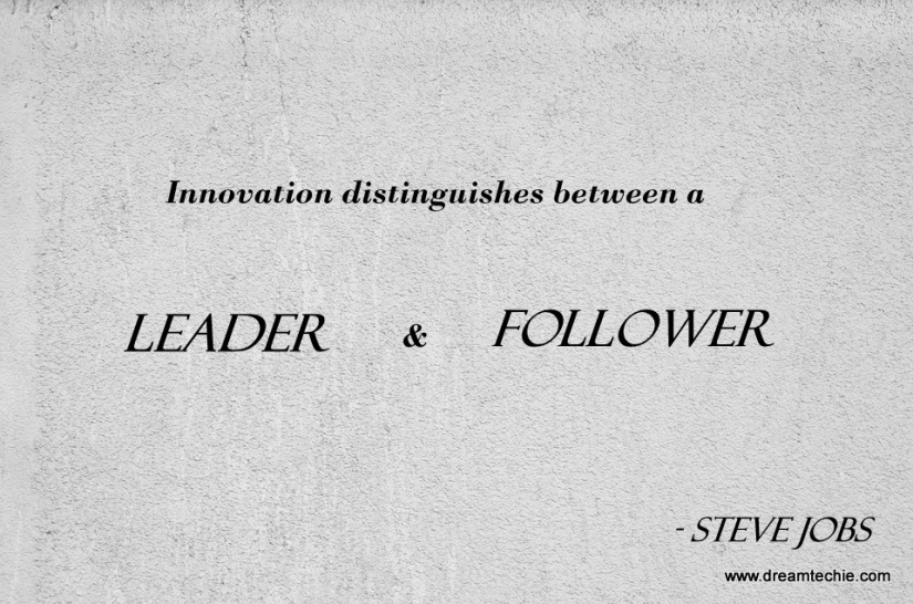 innovation quotes Images by steve jobs
