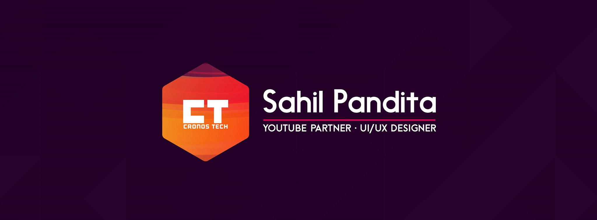 Interview with Tech Vlogger Sahil Pandita from Youtube Channel Cronos Tech