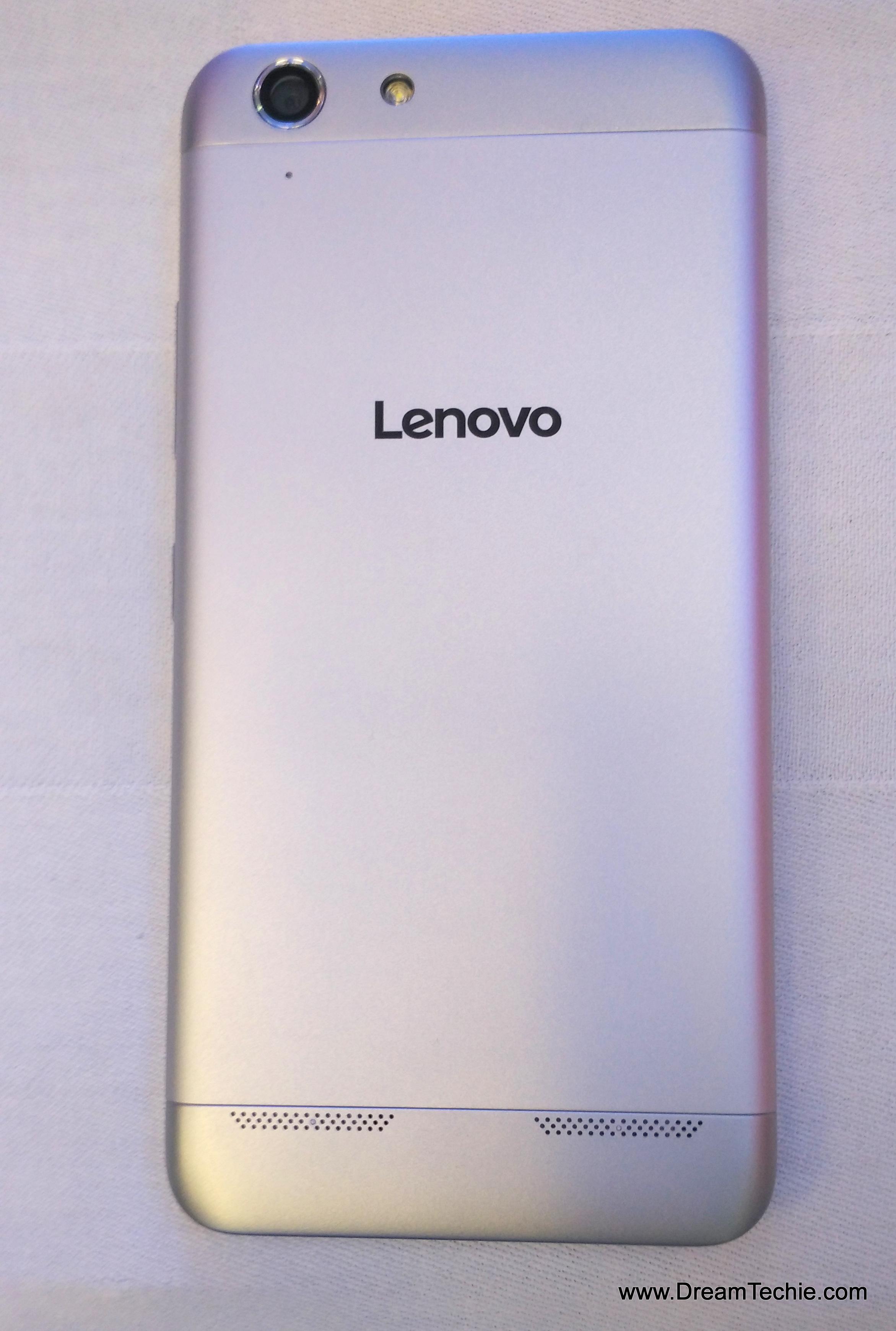 Lenovo Vibe K5 Plus Silver Color Pics