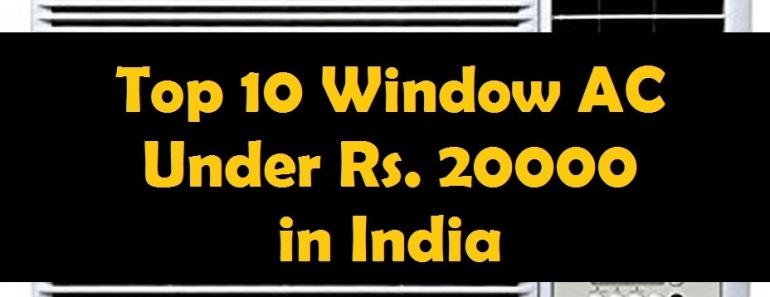 Best window ac under rs 20000