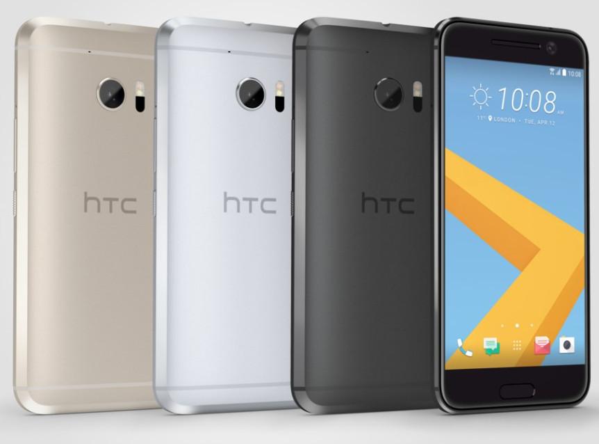 HTC 10 colours