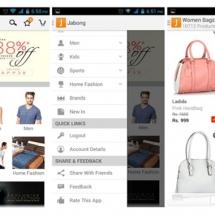 Jabong Shopping App
