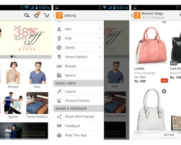 Jabong Shopping App