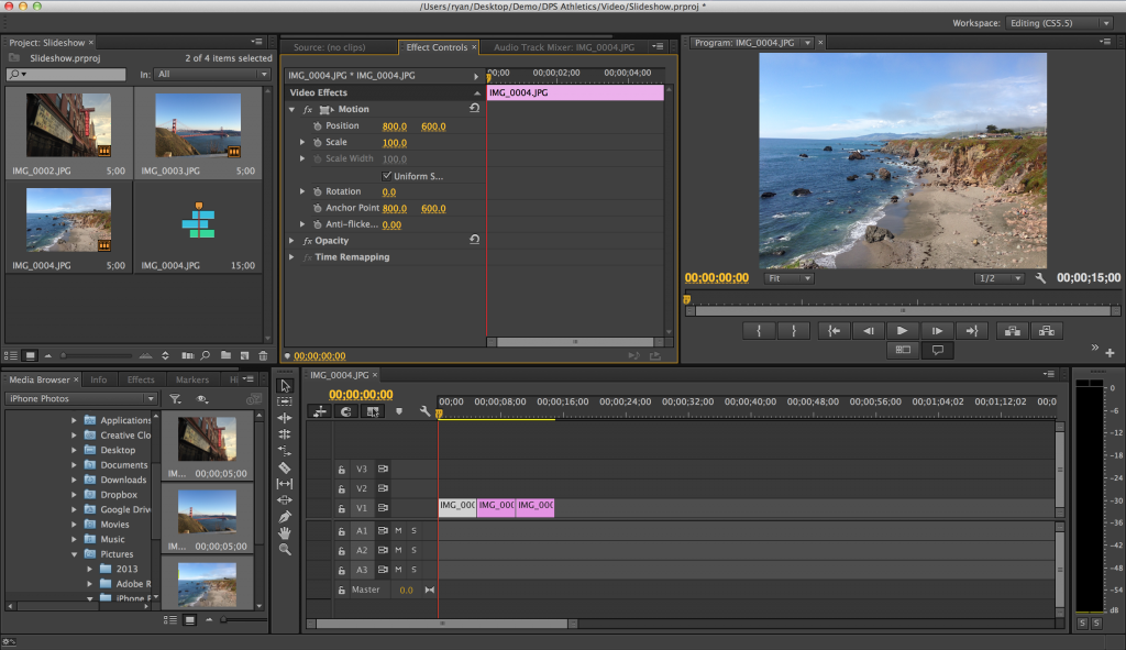 Best Video Editing Software - Adobe Premiere Pro
