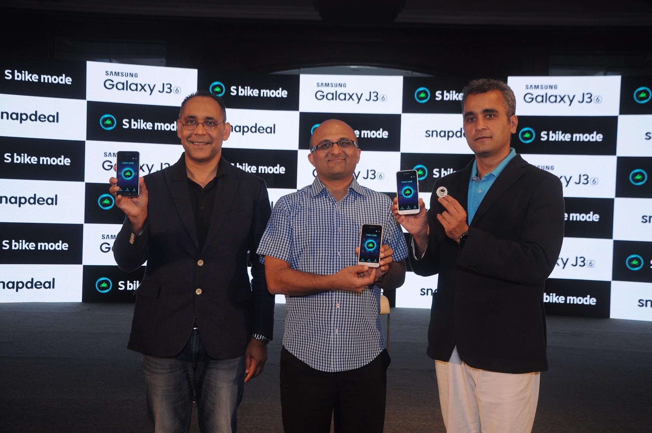 Samsung Galaxy J3 Launch In Delhi
