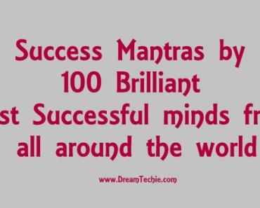 Success Mantras by 100 Brilliant