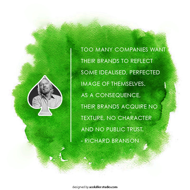 Branding building quotes by Richard Branson