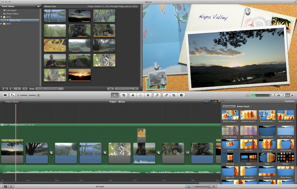 Best Video Editing Software - Apple iMovie