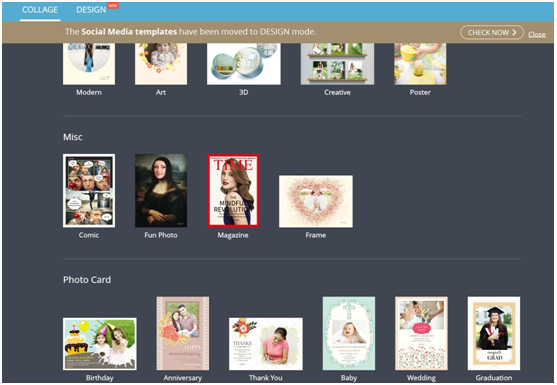 FotoJet is a free online collage maker and graphic designer