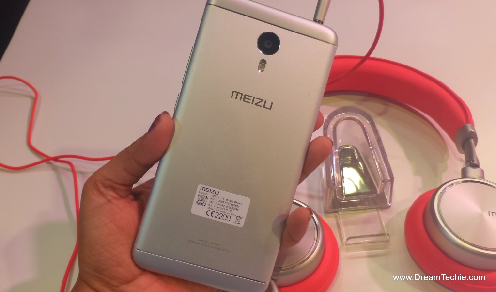 Meizu M3Note, Silver Color Back Cover Pictures