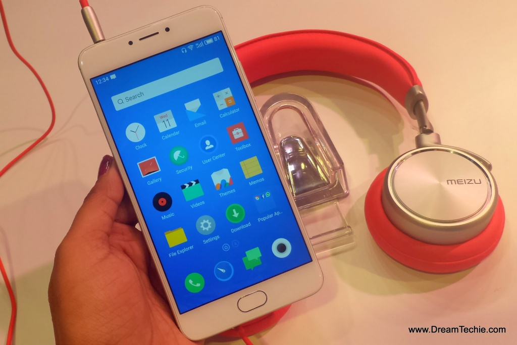 Meizu M3Note, Silver Color Hands On Pictures