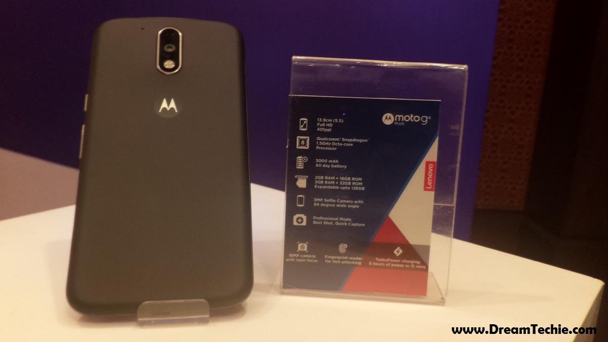 Moto G4 Plus Black