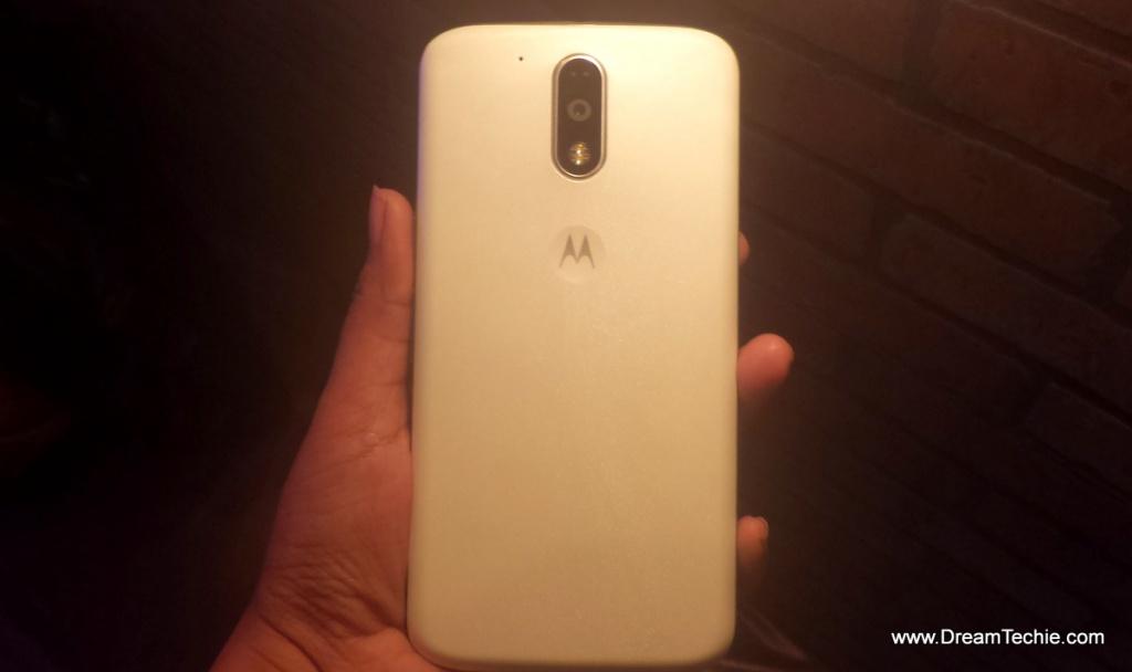 Moto G4 Plus White