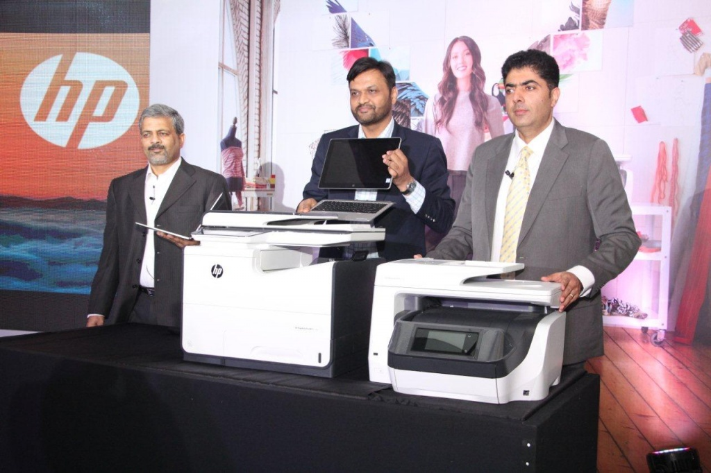 HP Commerical print and PC launch