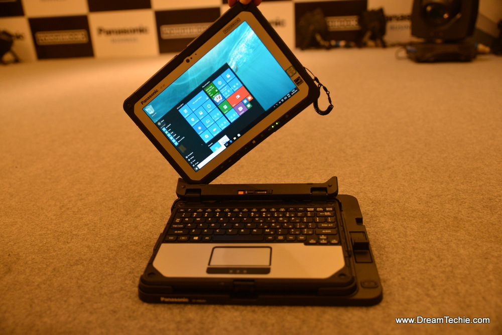 Panasonic Toughbook CF - 20 launched in India