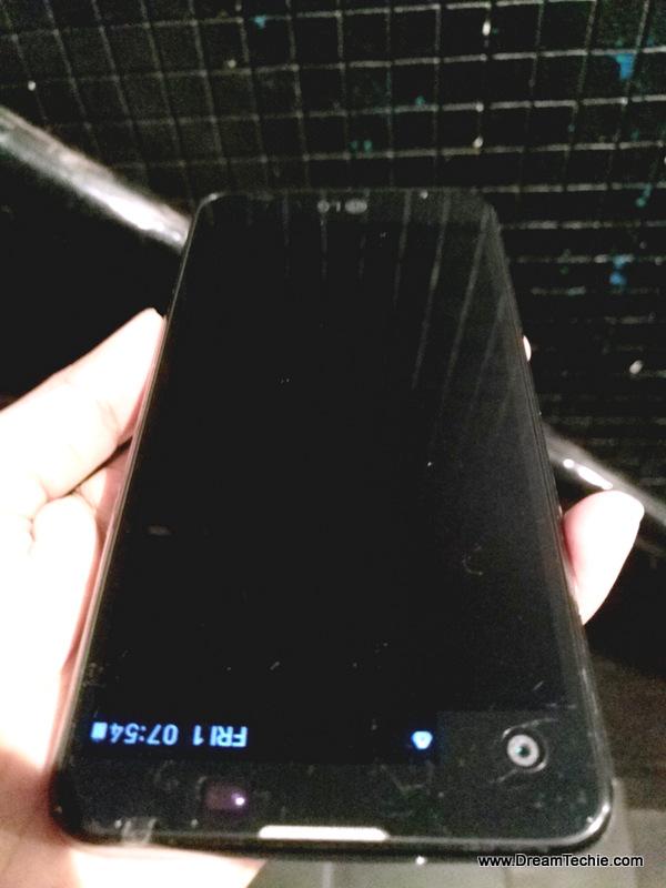 Lg X Screen, Always on Second screen