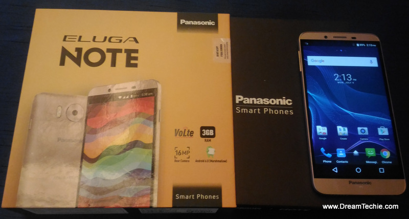 Panasonic Eluga Note Pics Specs and review