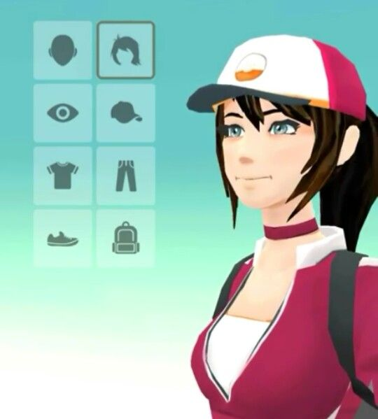 Pokemon GO character customization