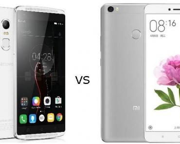 Xiaomi Mi Max (4GB RAM) vs Lenovo Vibe X3