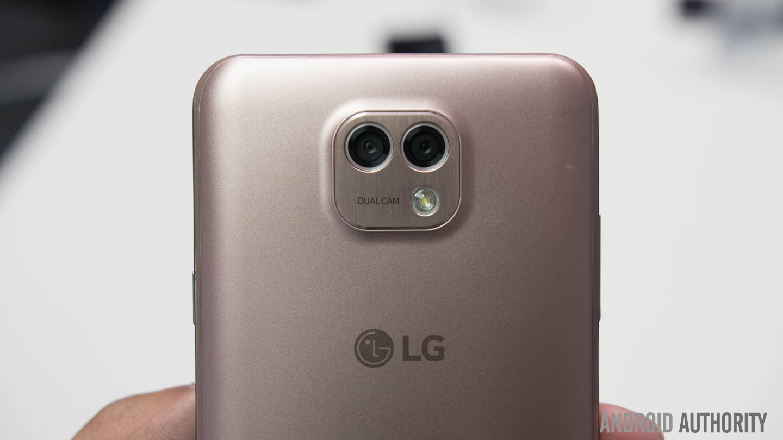 LG X Cam Silver Color