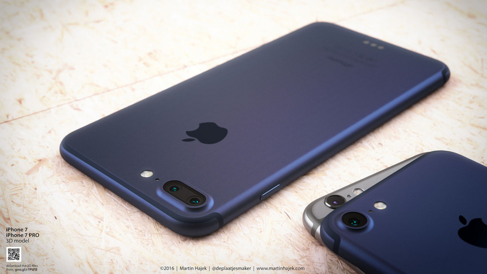 Martin Hajek Apple iPhone 7 in pictures Renders and leaked photos gallery