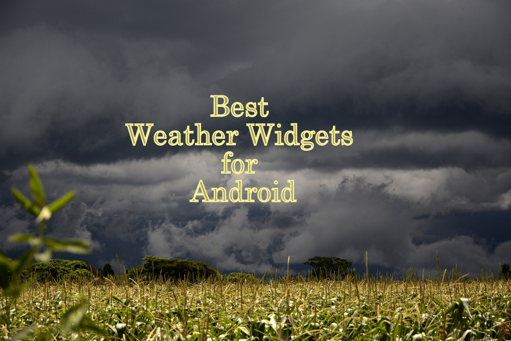 best-weather-widgets-for-android-phone