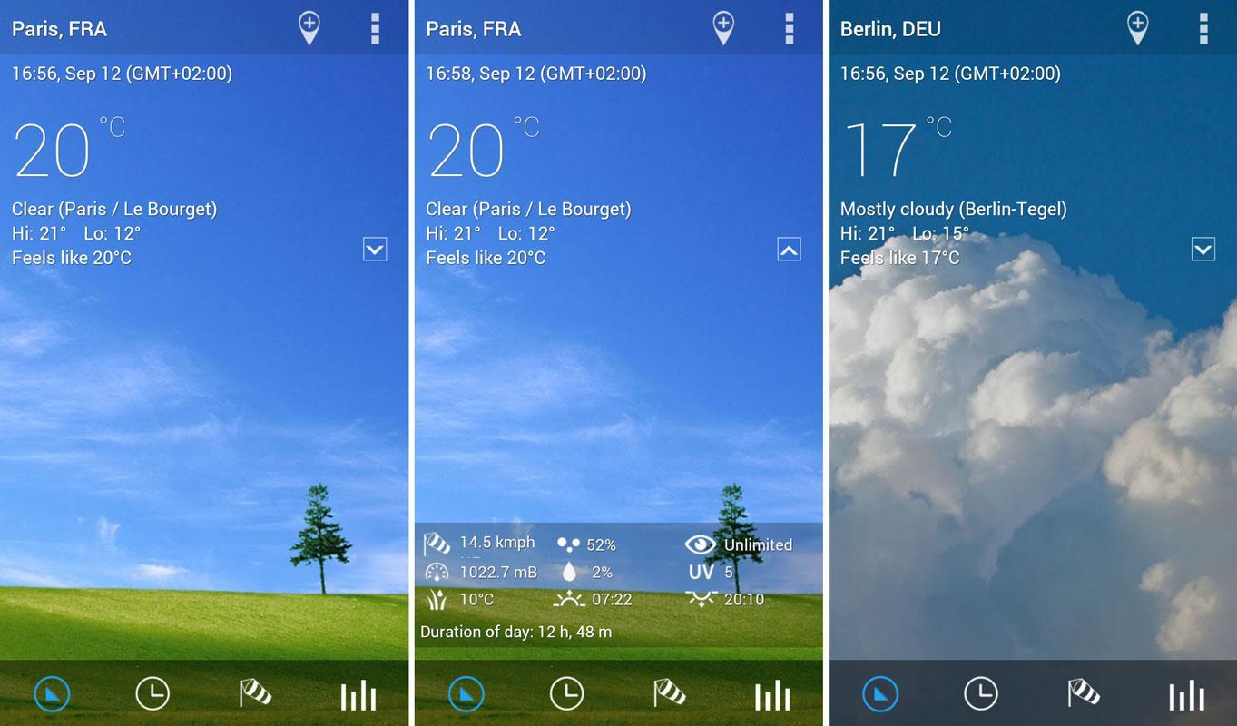 transparent-clock-weather-widget-android