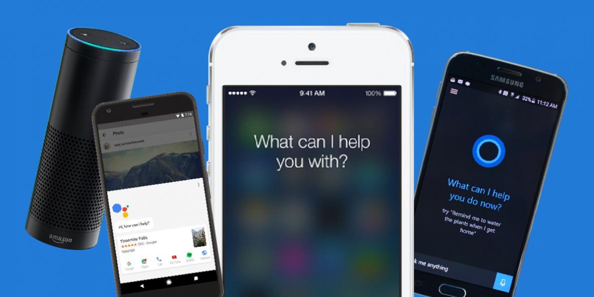 Alexa Siri Bixby google assistant virtual assistant services